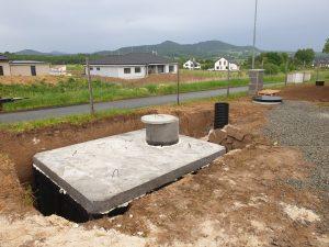 Česká republika - Betonové žumpa - Betonové jímky - Septik - Nadrz na vodu