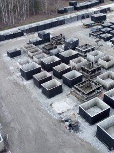 formy pro výrobu septiků - betonová jímka